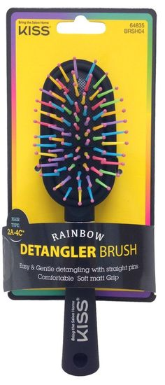 KISS Rainbow Brush Volumizer Detangler For All Hair Types *** This is an Amazon Affiliate link. Details can be found by clicking on the image.