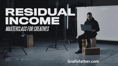 Residual Incom For Creatives Masterclass By Ezra Cohen Master Class, Text Features, Passion Project, Hard Earned, Research And Development, Some Text, How To Get Money, Helping Others