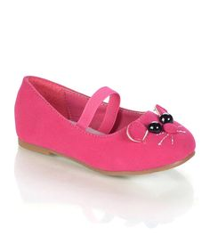 Take a look at this Jelly Beans Fuchsia Cat Tinoro Flat on zulily today!