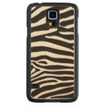 Animal skin print/ textute/ textile case cover carved® maple galaxy s5 case