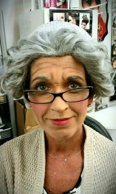 Old age makeup by beckie Special Makeup, Special Effects Makeup, Old Age Makeup, Hair Makeup, Scary Makeup, Makeup Looks, Musical Hair, Christmas Party Outfits, Mini Makeup