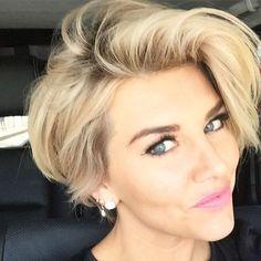 Charissa Thompson's short hairstyle
