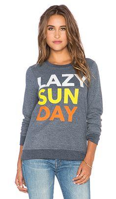 Chaser Lazy Sunday Sweatshirt in Avalon