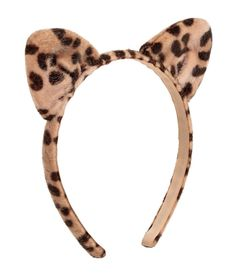 Leopard Cat Ears Hairband