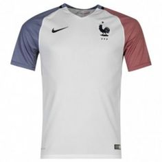 2016 France Away White Thailand Soccer Jersey