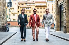 Streets Of Florence: Pitti Uomo 90 - Street Style - Day 2 -