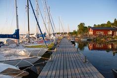 Sailing in the Swedish archipelago