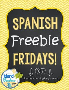 FREE! Spanish Numbers Task Card set and ideas for how to use them.