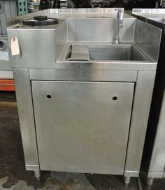 Used Custom Commercial 1-Compartment Stainless Steel Sink