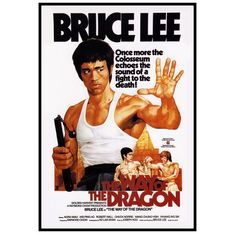 Return Of The Dragon, Way Of The Dragon, Enter The Dragon, Cinema Tv, Cinema Posters, Action Movie Poster, Action Movies, Classic Movie Posters, Classic Movies