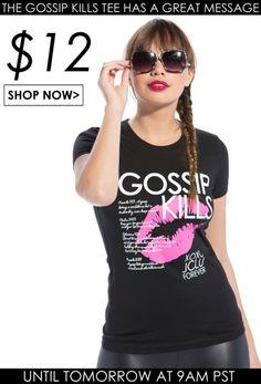 Gossip Kills Christian T-Shirt
