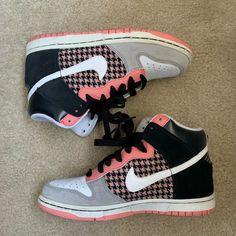 reputable site 51b5d 37a9a Nike Shoes   Womens Nike Dunk High Blackwhitepeach Size 7   Color  Black  White   Size  7