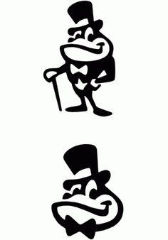 Creative Logo, Symbol, Mark, Logos, and Branding image ideas & inspiration on Designspiration Logo Inspiration, Wb Logo, Logo Animal, Frog Logo, Logo Luxury, Logo Character, Classic Cartoon Characters, Turner Classic Movies, Logo Sign