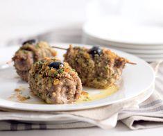 Plat principal : Saltimbocca de veau aux olives