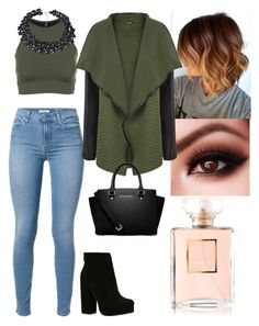 """""""Untitled #303"""" by sikarjazmin on Polyvore featuring Onzie, Call it SPRING, WearAll, AeraVida, MICHAEL Michael Kors and Chanel"""