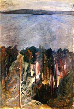 From Nordstrand Edvard Munch - 1892