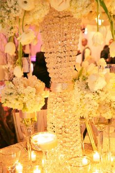 1039 best Centerpieces - Bring on the Bling (Crystals & Diamonds ...