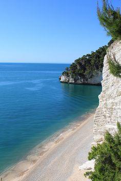 Baia delle Zagare, Gargano, Puglia, Italy.... i imagine myself walking on that shoreline with my baby <3<3<3