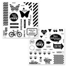 Close To My Heart's special for National Stamping Month is this awesome set, It's Your Day--a $35.90 value for only $5 with a 35 dollar purchase!!!  WOW!!!