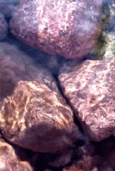 Tap GIF...Water over rocks