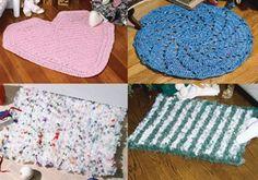 Leisure Arts - Bag Rugs Crochet Pattern ePattern, $2.99 (http://www.leisurearts.com/products/bag-rugs-crochet-pattern-digital-download.html)