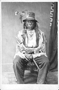 ohn Left Hand - Arikara - circa 1880