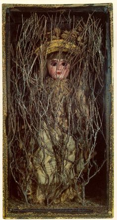 Untitled (Bebe Marie): early by Joseph Cornell (Museum of Modern Art, NYC) Joseph Cornell Boxes, Joseph Cornell Artwork, Collections D'objets, Alchemy, Assemblage Art, Outsider Art, Museum Of Modern Art, Sculpture, Box Art