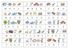 Hádanky - první hláska.doc Montessori Activities, Kids Education, Cool Kids, Jin, Alphabet, School, Autism, Childhood Education, Alpha Bet
