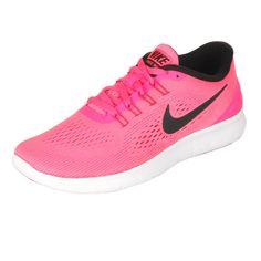 Nike Fre RN Natural-Runing - Damen - pink, schwarz