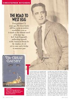 an analysis of the concept of hedonism in the novel the great gatsby by f scott fitzgerald The american dream in the great gatsby plot  see our analysis of the novel's ending  what did the american dream mean to fitzgerald how does morality fit.