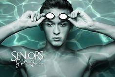 Underwater swimmer senior picture idea. #swimmingseniorpicturesideas #swimmingseniorpictures #seniorsbyphotojeania