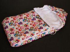 Как пошить зимний конверт для новорожденного своими руками
