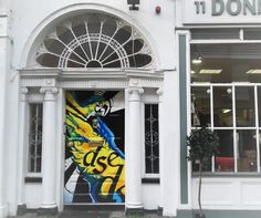 """See 2 photos and 1 tip from 53 visitors to Dublin School of English. """"Great place to learn English. Family run language school. Painted Doors, Dublin, Graffiti, Hand Painted, Murals, Parrot, Exploring, Instagram Posts, Walls"""