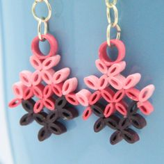 paper quilling, great earings on this site