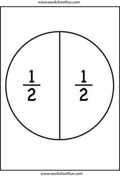 Mesmerizing image throughout fraction circles printable