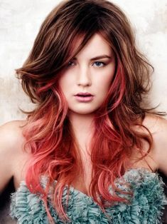 hair colouring styles