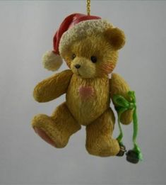 Cherished Teddies Jointed Bear Ornament