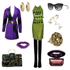 3 day outfit tribute to Versace