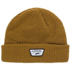 62c14c9ea44 Vans Mini Full Patch Beanie ( 24) ❤ liked on Polyvore featuring men s  fashion
