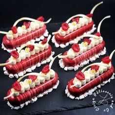 Cake & Co, Cake Shop, Dessert Aux Fruits, Cheesecake Bites, Dessert Decoration, Eclairs, Mini Desserts, Mini Cakes, Gourmet