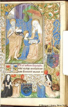 Book of Hours, MS M.131 fol. 45r - Images from Medieval and Renaissance Manuscripts - The Morgan Library & Museum