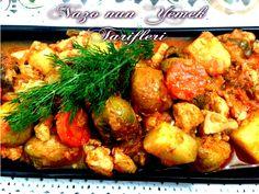 Nazonun Yemek Tarifleri - TAVUKLU BRÜKSEL LAHANASI