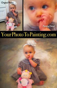 Free background replacement transforms a photo into a great digital painting at www.YourPhotoToPainting.com