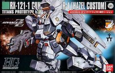 HGUC RX-121 Gundam Hazel Custom HG 1/144 - Gundam Toys Shop, Gunpla Model Kits Hobby Online Store, Diorama Supply, Tamiya Paint, Bandai Action Figures Supplier