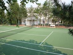 Tennis courts and other resort class amenities at Village Green of Farmington Hills. This is a metro Detroit luxury apartment community. Farmington Hills, Apartment Communities, Metro Detroit, Luxury Apartments, Tennis, Community, Green, Beautiful, Architecture