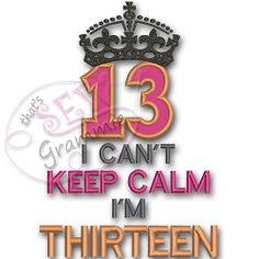 Can't Keep Calm 13 Applique - 3 Sizes! | Featured Products | Machine Embroidery Designs | SWAKembroidery.com