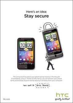 HTC Sense ad
