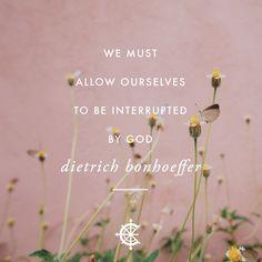 Powerful Dietrich Bonhoeffer quote