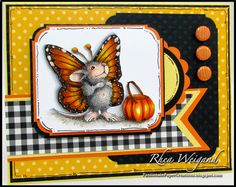 Passionate Paper Creations by Rhea Weigand @Stampendous Stamps Stamps @Laura Kirkpatrick Marker