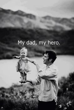 My dad, my hero.。❤